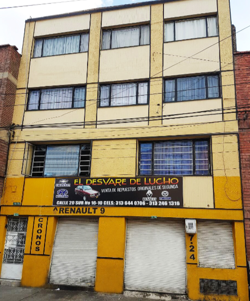 Edificio Comercial Barrio Restrepo